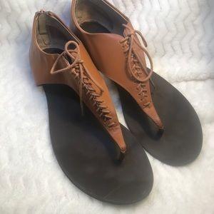 ✔️Sole Society Gladiator Thong Sandal Size I1